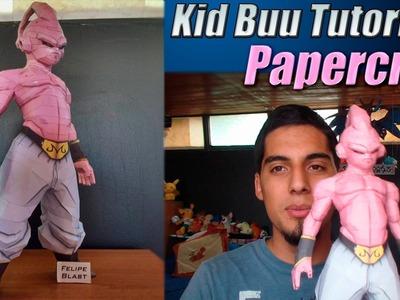 Tutorial ★ Como hacer a Kid Buu de Papel - ESPECIAL 50.000 SUBS