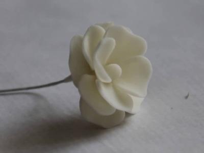 Tutorial de flores con porcenala fria