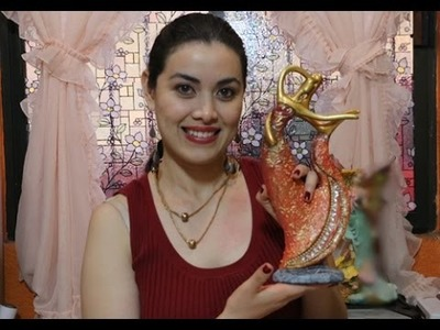 TUTORIAL para Pintar cerámica TEXTURA  FALSO ÓLEO.Diana ManoArt