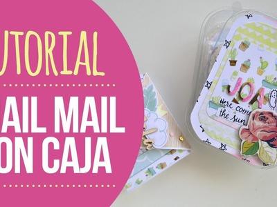 Tutorial Snail Mail con cajita a juego - Wilma