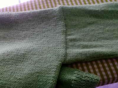 Vídeo de cómo colocar las mangas a un jersey de lana