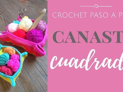 CANASTO CUADRADO - Paso a Paso por mamaQuilla
