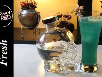 Cocteles con Vodka - como preparar el TSUNAMI FRESH