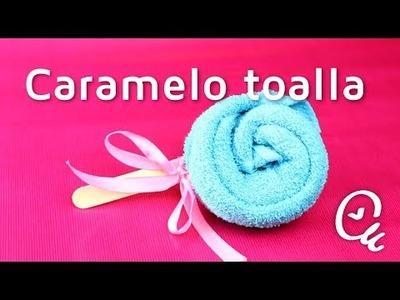 Cómo doblar una toalla en forma de caramelo   facilisimo.com