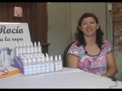 Cómo fabricar perfume para ropa. Red de Oficios. Vanina Rosani.