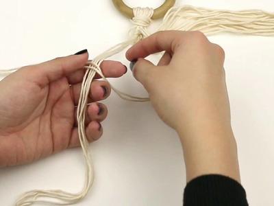 Cómo hacer nudo espiral en macramé | WE ARE KNITTERS