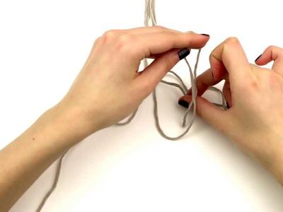 Cómo hacer nudo trenzado en macramé | WE ARE KNITTERS