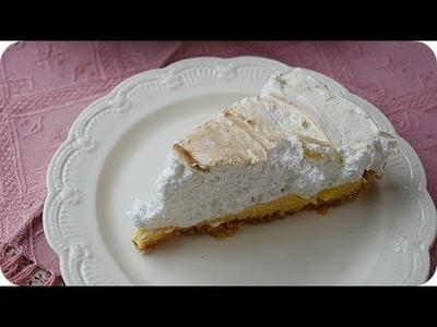 Cómo hacer tarta de limón condensada o Lemon Pie, receta fácil ♥ Bocados Divinos