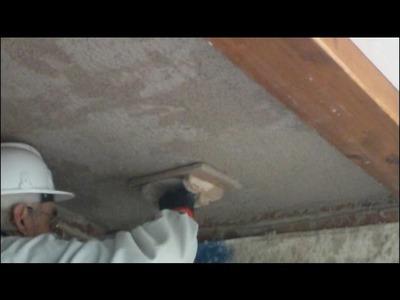 Cómo revestir un techo maestreado con mortero 2ª parte vídeo nº 190