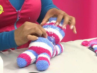 Hágalo con Estilo - gata realizada con calcetines, 6 de julio  2016