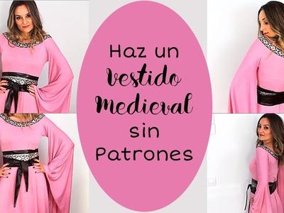 Haz Un Vestido Medieval Sin Patronaje. Fácil ????⚔ I Craftabulous