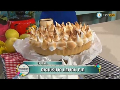 Lemon pie clásico en 5 pasos