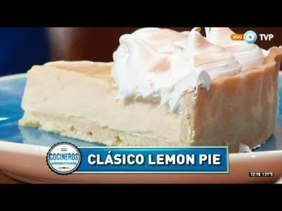 Lemon pie con crema de limón por Eugenia Guffanti