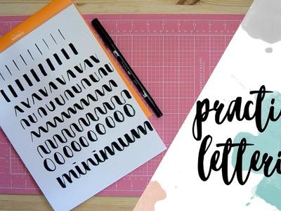 Lettering: Primeros pasos - Practicas y consejos - Tutorial lettering - UGDT
