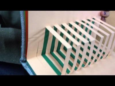Libro de fractales y Kirigami