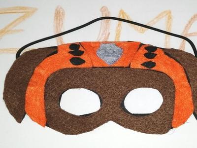 Mascara o careta de La Patrulla Canina Zuma Paw Patrol Dibujos animados actuales DIY Manolidades
