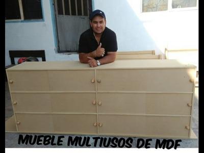 MUEBLE MULTIUSOS DE MDF DE 15MM