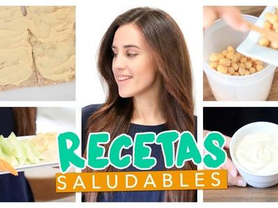 Recetas saludables de patés | Hummus y mtabal