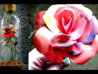 Rosa inspirada en la pelicula de la Bella y la Bestia 2