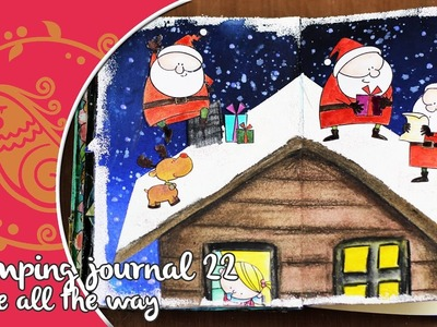 Stamping journal, Jingle all the Way
