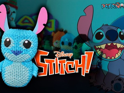 Stitch 3D Origami | Pekeño ♥