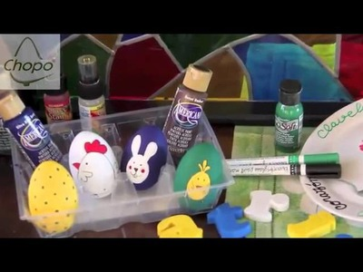 Técnicas de pintura con Deco Art