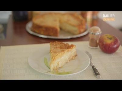 Torta de manzana y canela   @RecetasiMujer