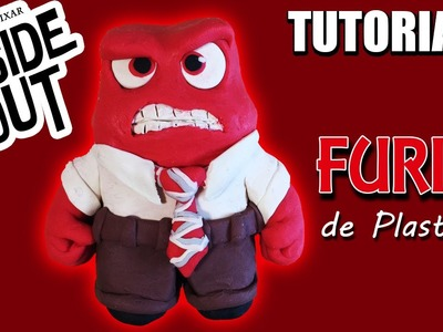 Tutorial FURIA (Intensa-Mente). ANGER (Inside Out) de Plastilina. Clay