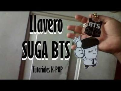TUTORIAL-llavero Suga BTS-Tutoriales K-POP-