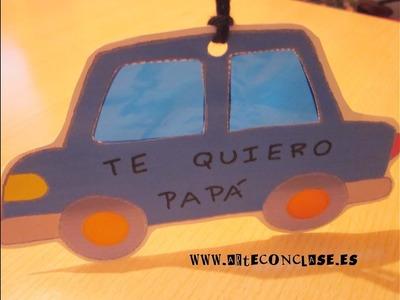 Arte con clase. Día del Padre: móvil para coche 1.