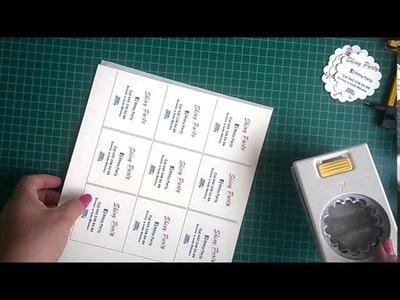 Cómo hacer cualquier papel un sticker o etiquetas autoadheribles