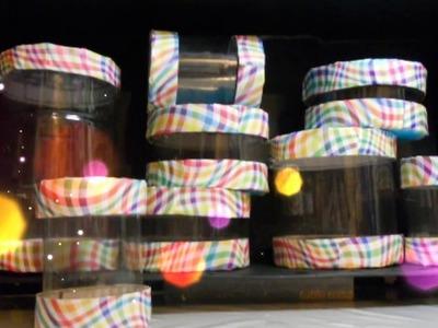 Como hacer ESPECIEROS LIGEROS How to Make a Spice Rack with bottles Tutorial Inerya viris