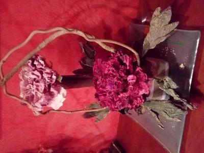 Como hacer un arreglo floral muy fácil, aprende con lola