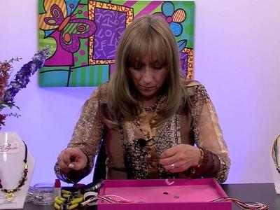 Como Hacer un Collar para Mujer con Cordones - Hogar Tv  por Juan Gonzalo Angel