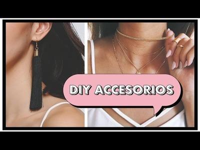 DIY ACCESORIOS [ ARETES ♦︎ CHOKERS ♦︎ PULSERAS ] | HeyEstee