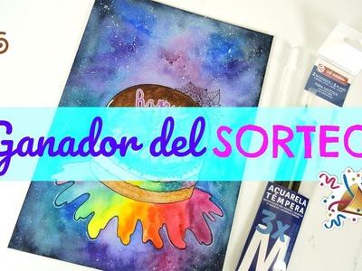 GANADOR DEL SORTEO POR LOS 10.000 SUSCRIPTORES | Your creative channel