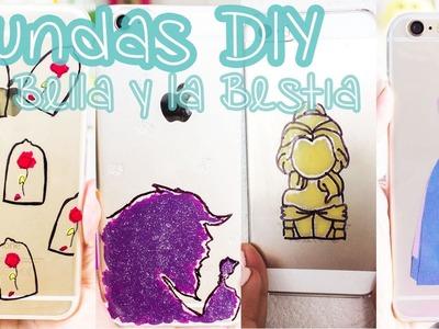 Haz tus propias FUNDAS para celular de LA BELLA Y LA BESTIA – DIY. BigCrafts