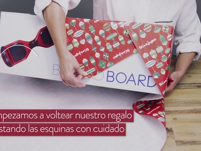 ¡Aprende cómo envolver tu regalo de navidad!