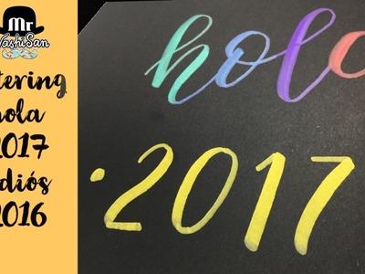 Lettering : Hola 2017 Recopilatorio de vídeos de lettering y caligrafía