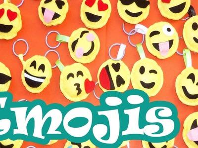 Llaveros de Emojis. Manualidades para regalar
