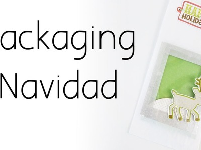 Packaging navidad | Bolsa decorada Navidad 2016 | CON P DE PAPEL
