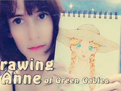 Pintando Anne with an E (Ana de las tejas verdes) | ASMR español