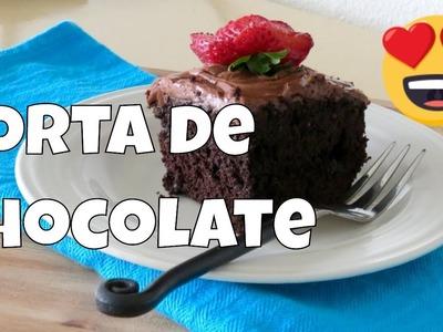 Torta (Pastel) de Chocolate Casera Fácil  The Frugal Chef