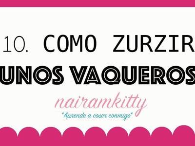 10. CURSO ONLINE APRENDE A COSER A MÁQUINA: COMO ZURZIR UNOS VAQUEROS
