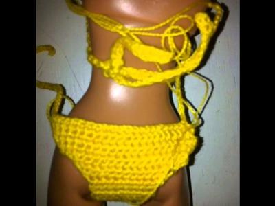 Bikini y sandalias para muñecas