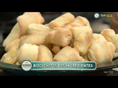 Bizcochos y mini cremona con dos ingredientes