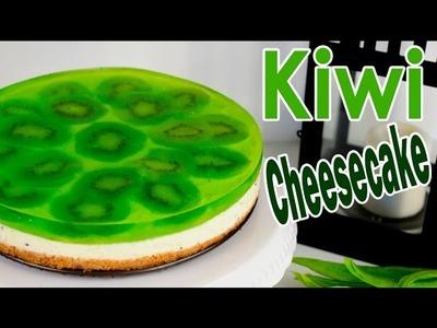 Cheesecake de kiwi sin horno | Receta fácil | Descubre su increíble sabor