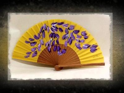 Coloreando el viento - Los abanicos pintados de Lola Pinel