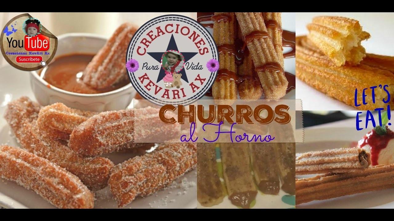 Cómo hacer Churros al Horno Caseros | Receta Fácil y Rápida!.Homemade Churros