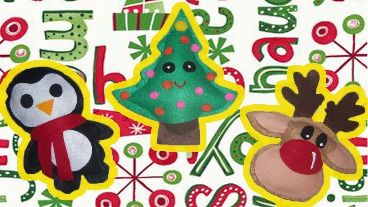 Cojines Navidad Manualidades.Como Hacer Cojines Navidenos Moldes Gratis Manualidades